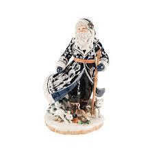 fitz and floyd painted bristol santa figurine