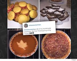 oh no khloe lies about thanksgiving pies burgers