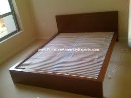 Ikea Beds Ikea Malm Bed Frames Sultan Laxery Slat Assembled In The Allegro