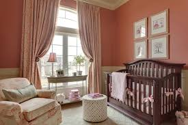 floor to ceiling drapes nursery traditional with curtain tiebacks