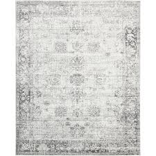 Gray Rug 8x10 The Elegant Gray Area Rug 8x10 Popular Clubnoma Com