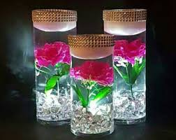 Wedding Centerpieces Floating Candles And Flowers by Wedding Centerpiece Floating Candle Centerpiece Pink Decor