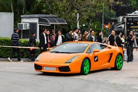 Lamborghini Gallardo Lime Green - lamborghini 50th anniversary hong kong gathering had some u0027special