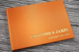 Leather Wedding Guest Book Wedding Guest Book Archives Bespoke Album Company