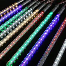 outdoor tube lighting led meteor shower lights shenzhen enrich lighting co ltd