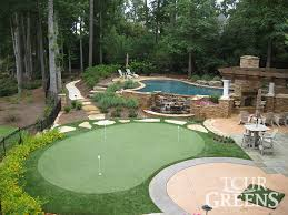 Building A Backyard Putting Green by Backyard Putting Green Cost Crafts Home