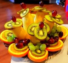 Vegetable And Fruit Decoration Tips On Creative Fruit And Vegetable Carving Holiday Dish