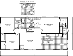 Mobile Home Plans Mossy Oak Mobile Homes Floor Plans Home Plan