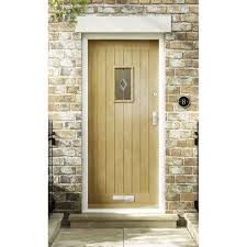 Oak Exterior Door by Premdor Croft Part L Triple Glazed Oak Exterior Door U2013 Next Day