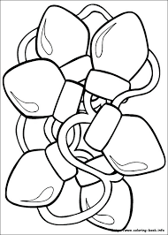 tree coloring pages ornaments lights for best ideas