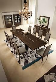 italian extendable dining table italian modern extendable dining table