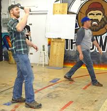 brantford people come to town to throw axes u2013 they have a good