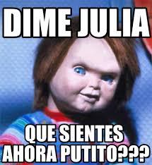 Julia Meme - dime julia chucky meme on memegen