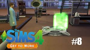 sims 4 get to work scientist p8 the cloning machine youtube