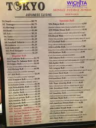 Tokyo Hibachi Buffet by Tokyo Japanese Cuisine The Half Price Sushi U2013 Wichita By E B