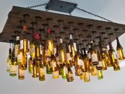 Wine Bottle Light Fixtures Beer Bottle Light Fixture Diy Home Design Ideas