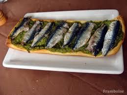 cuisiner des sardines fraiches tarte purée de courgettes et sardines fraiches framboise à