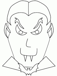 Halloween Bats To Color by Dracula Coloring Pages Getcoloringpages Com