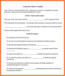bylaws template nonprofit bylaws template best business