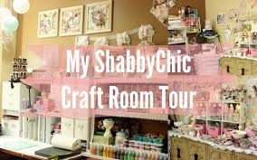 Diy Craft Room Ideas - my beautiful shabby chic craftroom scraproom tour workspace