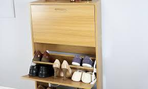 Shoe Cabinet Humphrey Two Tier U0026 Three Tier Shoe Cabinet Shoe Rack Storage Unit