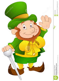 st patrick u0027s day cartoon character vector illustration stock