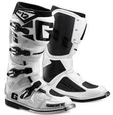 white motocross boots gaerne sg12 motocross enduro mx boots white matt gardiner motocross