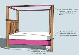 Farmhouse Bed Frame Plans Diy Canopy Bed Frame King Size Canopy Bed Plans Rogue Engineer 2