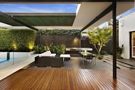 Outdoor Spaces Design - relaxing outdoor space of a house on balaclava road australia