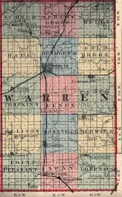Il Map Early Maps Of Warren Co Il