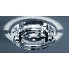 franklite rf264 polished chrome recessed bathroom downlight at