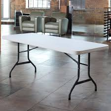 White Plastic Table Folding Table 30