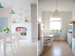 transform your kitchen with wallpaper ao life live
