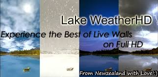 app lake weather live wallpaper apk for windows phone android - Weather Live Apk