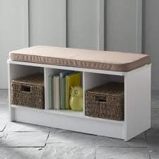 Entryway Storage Bench Entryway Benches Threshold Windham Entryway Bench Entryway