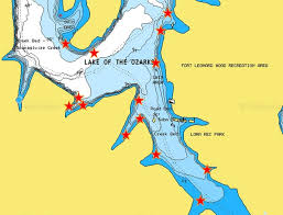 cove lake of the ozarks map brush piles structure and much more maps gallery lake of the