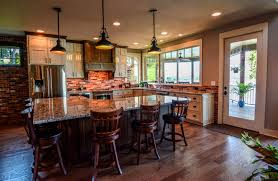 house tour old charm for a new home loversiq 3 story lake cabin with great room cathedral ceiling an earth tone kitchen the shades of home decor