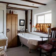 15 charming bathroom designs with wood beams rilane