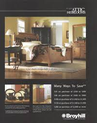 Heirloom Bedroom Furniture by Broyhill Furniture Advertisement Gallery