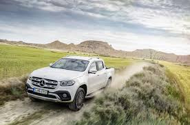 mercedes pickup the 2018 x class is u2014 quite literally u2014 the mercedes benz of