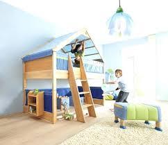chambre enfant toboggan lit enfant sureleve lit enfant mezzanine bois massif toboggan