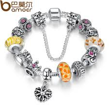 jewelry bracelet charms images Bamoer queen jewelry silver charms bracelet bangles with queen jpg