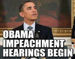 OBAMA IMPEACHMENT HEARINGS