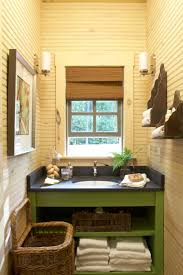 southern living bathroom ideas garden ideas throughout this woodsy cottage at camp callaway