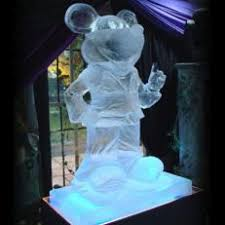 ice sculptures for events hire an ice luge ice sculptor agency