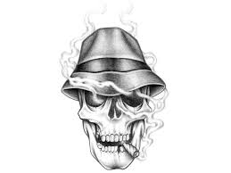 evil clown skulls tattoos images for tatouage