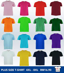 malaysia t shirt online supplier manufacturer u0026 printing promotion for extra sizes