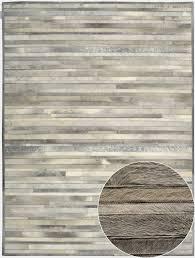 Calvin Klein Rug Prairie Arctic Silver By Calvin Klein Home