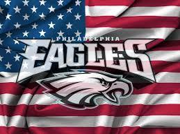 Flag Of Philadelphia Philadelphia Eagles Logo On Usa Flag Windy Canvas 1600x1200