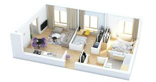 Two Bedroom Design Two Bedroom House Plans Best 2 Simple Plan Modern Apartments